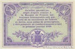 1 Franc FRANCE régionalisme et divers Cahors 1915 JP.035.15 SUP+