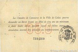 50 Centimes FRANCE régionalisme et divers CALAIS 1914 JP.036.01 TB