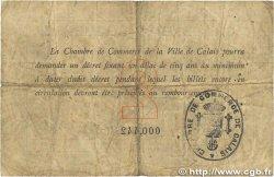 2 Francs FRANCE régionalisme et divers Calais 1914 JP.036.05 B
