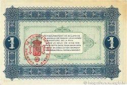 1 Franc FRANCE régionalisme et divers Calais 1915 JP.036.15 TTB