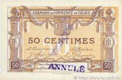 50 Centimes FRANCE régionalisme et divers CALAIS 1919 JP.036.34 TTB+
