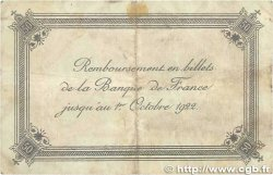 50 Centimes FRANCE régionalisme et divers CALAIS 1920 JP.036.42 B+