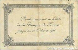 50 Centimes FRANCE régionalisme et divers Calais 1920 JP.036.42 TB