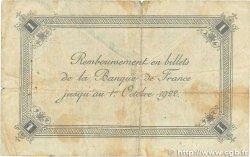 1 Franc FRANCE régionalisme et divers CALAIS 1920 JP.036.43 B+
