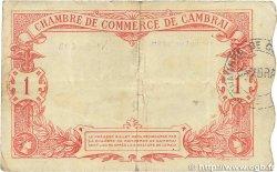 1 Franc FRANCE régionalisme et divers Cambrai 1914 JP.037.21 TB+