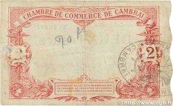 2 Francs FRANCE régionalisme et divers CAMBRAI 1914 JP.037.22 B+