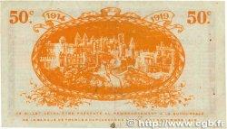 50 Centimes FRANCE régionalisme et divers CARCASSONNE 1914 JP.038.01 TB