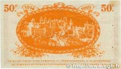 50 Centimes FRANCE régionalisme et divers CARCASSONNE 1914 JP.038.01 pr.SPL