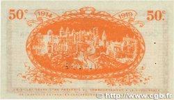 50 Centimes FRANCE régionalisme et divers CARCASSONNE 1914 JP.038.01 SPL