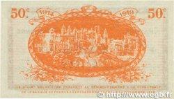 50 Centimes FRANCE régionalisme et divers CARCASSONNE 1914 JP.038.04 SUP+