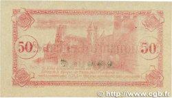 50 Centimes FRANCE régionalisme et divers CARCASSONNE 1917 JP.038.12 SUP+