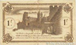 1 Franc FRANCE régionalisme et divers Carcassonne 1920 JP.038.17 TB
