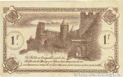1 Franc FRANCE régionalisme et divers Carcassonne 1920 JP.038.17 TTB