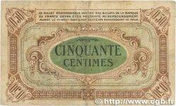 50 Centimes FRANCE régionalisme et divers RÉGION ÉCONOMIQUE DU CENTRE 1918 JP.040.05 TB