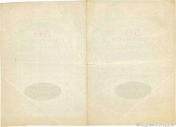 50 Centimes FRANCE régionalisme et divers RÉGION ÉCONOMIQUE DU CENTRE 1918 JP.040.05var. TB