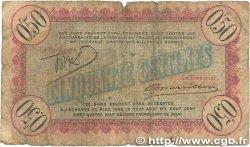 50 Centimes FRANCE régionalisme et divers CETTE actuellement SÈTE 1922 JP.041.16 B