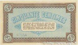 50 Centimes FRANCE régionalisme et divers CHÂLON-SUR-SAÔNE, AUTUN et LOUHANS 1916 JP.042.01 TTB+