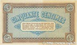 50 Centimes FRANCE régionalisme et divers Châlon-Sur-Saône, Autun et Louhans 1916 JP.042.09 SUP+
