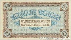 50 Centimes FRANCE régionalisme et divers Châlon-Sur-Saône, Autun et Louhans 1916 JP.042.09 SPL+