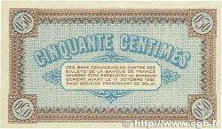 50 Centimes FRANCE régionalisme et divers CHALON-SUR-SAÔNE, AUTUN et LOUHANS 1916 JP.042.09 pr.NEUF