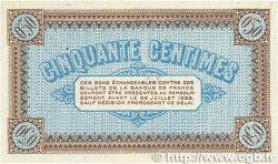 50 Centimes FRANCE régionalisme et divers Châlon-Sur-Saône, Autun et Louhans 1917 JP.042.13 SPL+
