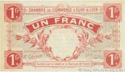 1 Franc FRANCE régionalisme et divers Chartres 1915 JP.045.03 pr.SPL