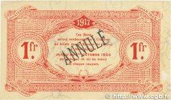 1 Franc FRANCE régionalisme et divers Chartres 1917 JP.045.08 TTB