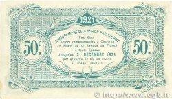 50 Centimes FRANCE régionalisme et divers Chartres 1921 JP.045.11 SUP+