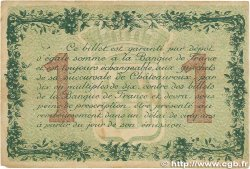 1 Franc FRANCE régionalisme et divers Chateauroux 1915 JP.046.02 TB