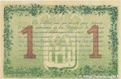 1 Franc FRANCE régionalisme et divers CHÂTEAUROUX 1915 JP.046.02 SUP