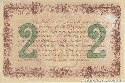 2 Francs FRANCE régionalisme et divers CHÂTEAUROUX 1915 JP.046.04 SUP