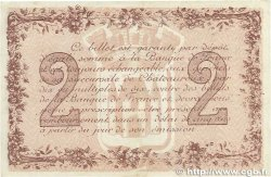 2 Francs FRANCE régionalisme et divers Chateauroux 1915 JP.046.09 TTB