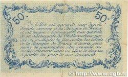 50 Centimes FRANCE régionalisme et divers CHATEAUROUX 1916 JP.046.14 TTB