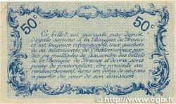 50 Centimes FRANCE régionalisme et divers CHATEAUROUX 1916 JP.046.14 SUP