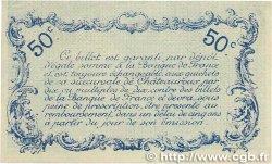 50 Centimes FRANCE régionalisme et divers Chateauroux 1916 JP.046.14 SUP+