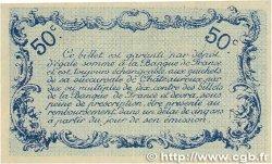 50 Centimes FRANCE régionalisme et divers CHATEAUROUX 1916 JP.046.14 SPL