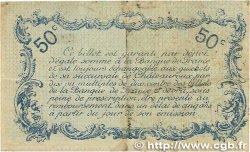 50 Centimes FRANCE régionalisme et divers Chateauroux 1916 JP.046.16 TB