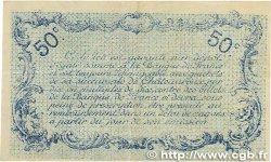 50 Centimes FRANCE régionalisme et divers Chateauroux 1916 JP.046.16 TTB