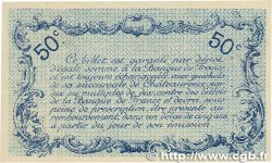 50 Centimes  FRANCE regionalism and miscellaneous Chateauroux 1916 JP.046.16 AU