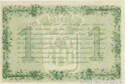 1 Franc FRANCE régionalisme et divers Chateauroux 1916 JP.046.17 SUP