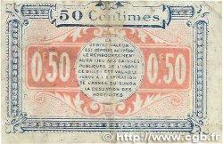 50 Centimes FRANCE régionalisme et divers Chateauroux 1918 JP.046.18 TB