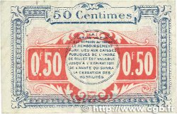 50 Centimes FRANCE régionalisme et divers CHATEAUROUX 1918 JP.046.18 TB+