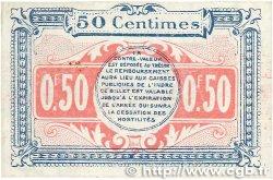 50 Centimes FRANCE régionalisme et divers CHATEAUROUX 1918 JP.046.18 SUP+