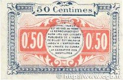 50 Centimes FRANCE régionalisme et divers Chateauroux 1918 JP.046.18 pr.NEUF