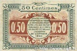 50 Centimes FRANCE régionalisme et divers Chateauroux 1919 JP.046.20 TB