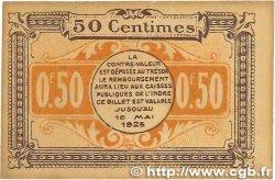 50 Centimes FRANCE régionalisme et divers Chateauroux 1920 JP.046.22 TTB+