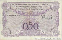50 Centimes FRANCE régionalisme et divers CHATEAUROUX 1920 JP.046.24 TTB
