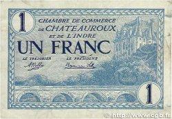 1 Franc FRANCE régionalisme et divers Chateauroux 1920 JP.046.26 B+