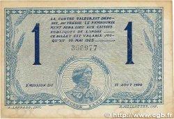 1 Franc FRANCE régionalisme et divers CHATEAUROUX 1920 JP.046.26 TTB