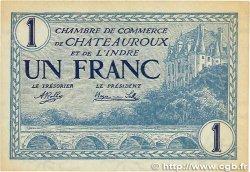 1 Franc FRANCE régionalisme et divers CHATEAUROUX 1920 JP.046.26 TTB+
